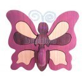 Gabeliz Minifogas, lila pillangó  mintával