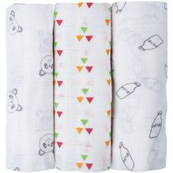 Bubaba textilpelenka - 3 db
