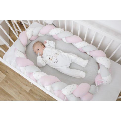 Bubaba fonott babafészek 3in1 - Rosa