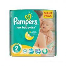 Pampers New Baby-dry Pelenka 2 Mini - Giant Pack 100 db