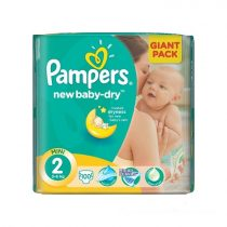Pampers New Baby-dry Pelenka 2 Mini - Giant Pack 100 db