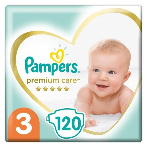 Pampers pelenka Prem MegaBox S3 120