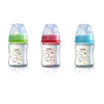 BabyOno hőálló üveg széles nyakú cumisüveg 120 ml