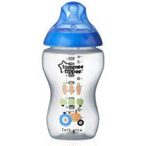Tommee Tippee BPA-mentes cumisüveg (340 ml) - Kék