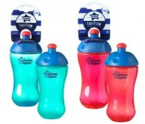 Tommee Tippee Essentials FreeFlow sports bottle - csőrös itatópohár 12+ (300 ml)