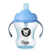 Tommee Tippee Explora easy drink straw - szívószálas itatópohár 6+ (230 ml) - Kék