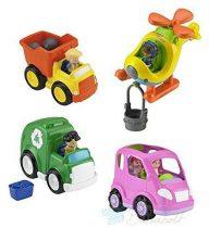 Fisher-Price Little People Zenélő járművek