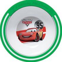 Cars műanyag mély tányér