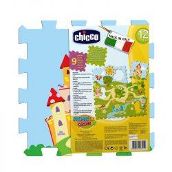 Chicco Kastély Puzzle - mosható szőnyeg 9 db-os