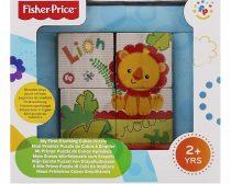 Fisher-Price Oroszlános fakocák gyerekjáték Fp2001
