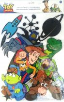 """Disney fali dekoráció - több darabos - """"Micimackó és barátai / Toy Story"""""""
