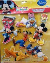 Disney fali dekoráció - 3D csillámos - többféle
