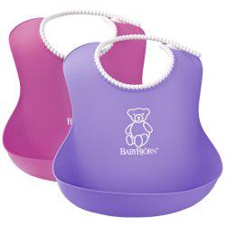 BabyBjörn Lágy Előke 2 darab - Pink/Lila