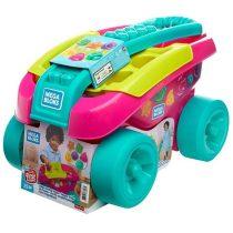 Fisher Price MB lányos formaválogató kocsi - Rózsaszín