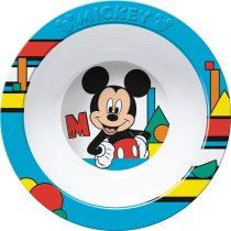 Mickey műanyag mély tányér