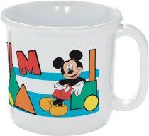 Mickey műanyag bögre - 250 ml