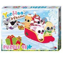 YooHoo & Friends puzzle - 48 db
