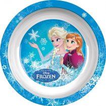 Frozen műanyag lapos tányér