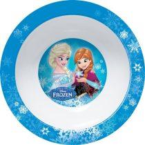 Frozen műanyag mély tányér