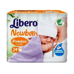 Libero Newborn 1 Koraszülött Pelenka - 24 db