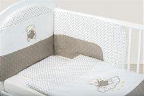 Bubaba 6 részes ágynemű szett - Bézs maci