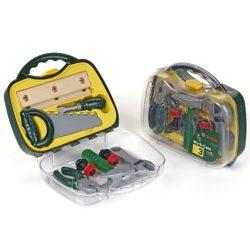 Klein Toys: Bosch szerszámkészlet átlátszó táskába