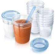 Philips Avent VIA etető szett - ételtároló poharak