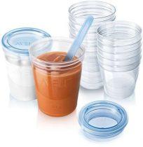 Philips Avent VIA etetőszett - ételtároló poharak