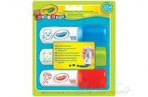 Crayola Mini Kids -  Kimosható marokfilctoll - 3 db