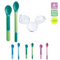 Mam Feeding Spoons & Cover kanál tartóval