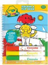Crayola Mini Kids - Képmixelős kifestő füzet