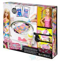 Barbie baba ruhafestő készlet - Mosd ki a ruhákat és kezd újra a festést!