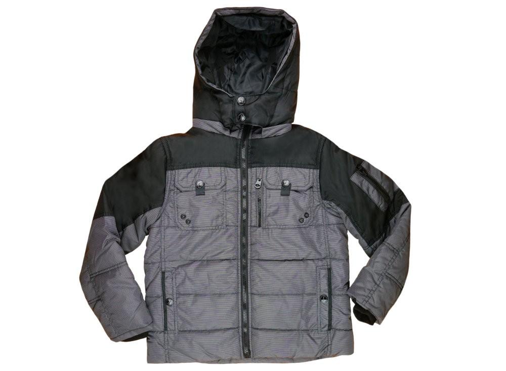 Losan fiú kapucnis, zsebes kabát