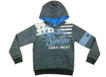 Losan kapucnis fiú pulóver