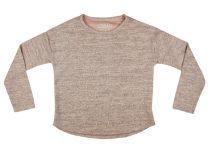Losan lányka kötött pulóver gyöngyös