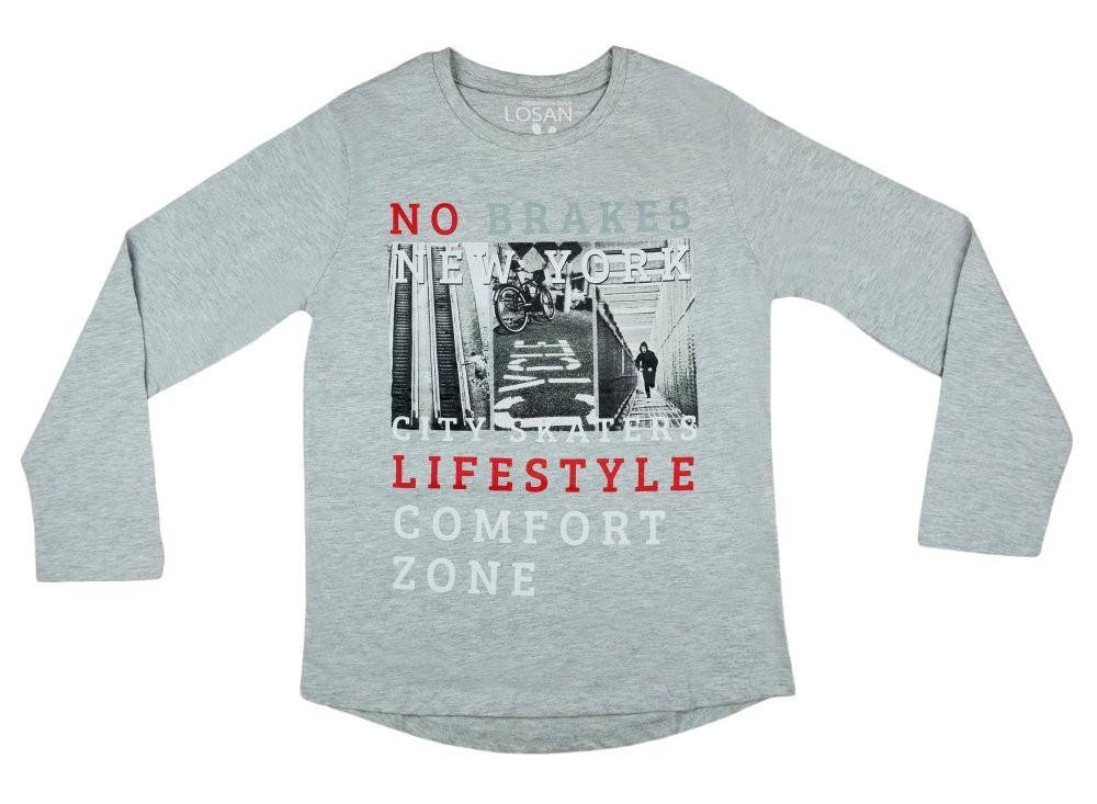 00cefa911b Losan fiú hosszú ujjú póló Deszkás NY