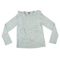 Losan lányka kötött pulóver fodros