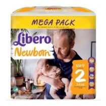 Libero Newborn 2 Pelenka - Mega Pack 108 db