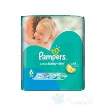 Pampers Active Baby-Dry Pelenka 6 Extra Large - 24 db
