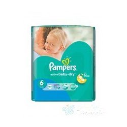 Pampers Active Baby-Dry Pelenka 6 Extra Large - 24