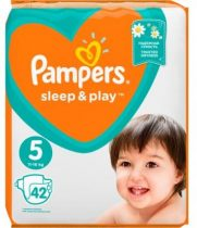 Pampers Sleep & Play Pelenka 5 Junior - 42 db