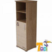 Todi Noé – keskeny nyitott polcos + 1 ajtós szekrény