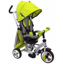Babymix átfordítható, dönthető tricikli - Zöld