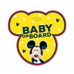 Baby on board tábla - Mickey