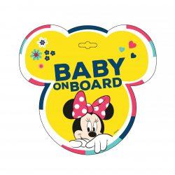 Baby on board tábla - Minnie