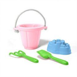 GreenToys Homokozó Szett Pink