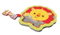 Trefl: Fisher Price Puzzles - Baby Fun Cub - Oroszlános kirakó