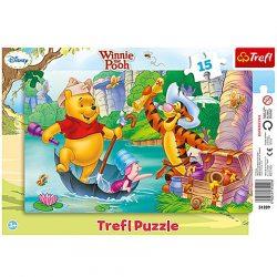 Trefl: Micimackó kincskereső kalandjai puzzle - 15