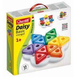 """Quercetti: Daisy pötyi """"háromszögek"""" 13 db-os"""