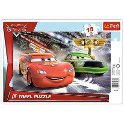 Trefl: Verdák 2 - Verseny a kupáért: 15 db-os keretes puzzle